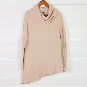 VINCE CAMUTO Asymmetrical Sweater in Shell